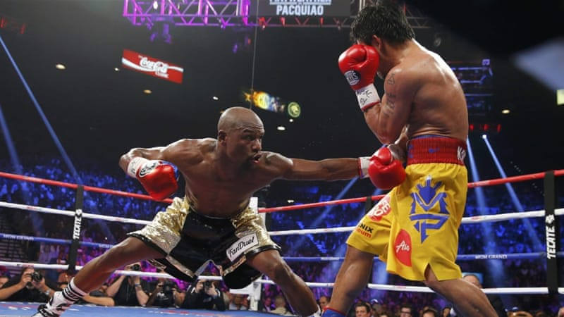 Mayweather beat Pacquiao on points in May this year [REUTERS]