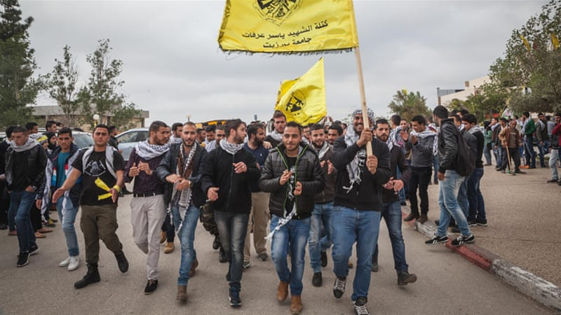 Until now, the student group aligned with Fatah had won a majority in the university's elections [Andrea DiCenzo/Al Jazeera]