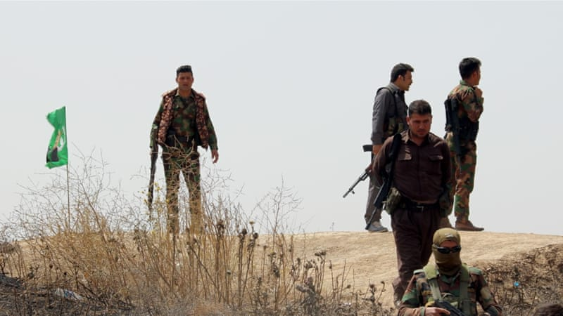 Kurdish Peshmerga officials claim that a chemical attack last on Tuesday wounded scores of fighters [Getty Images]