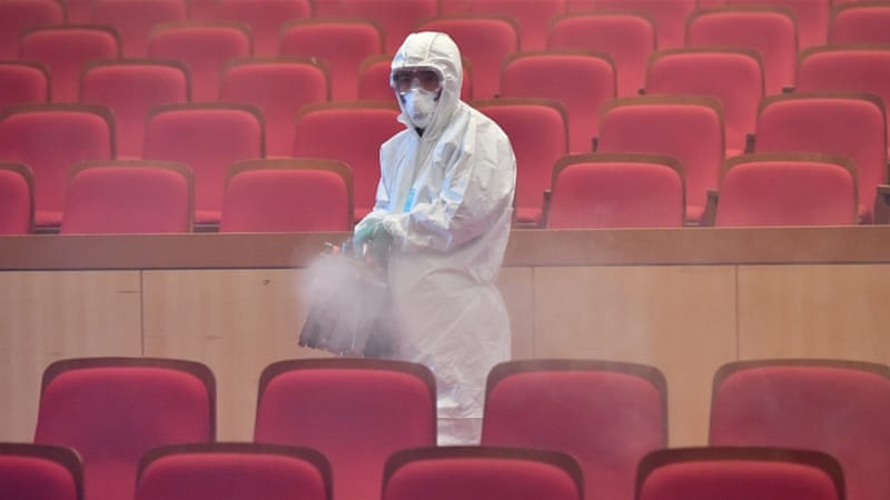 A WHO spokesperson said there is 'no evidence' at the moment that the MERS virus is airborne [AFP]