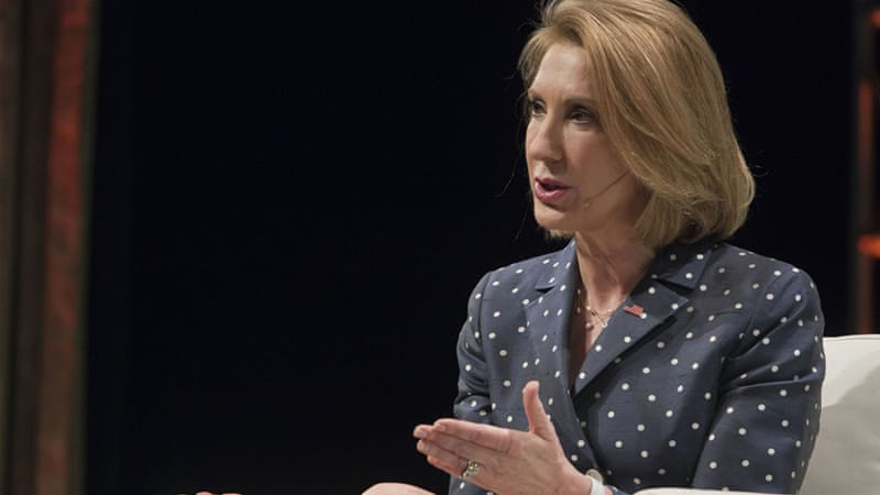 Things began to change at HP under former Chief Executive Carly Fiorina, now a candidate in the 2016 race for president [Getty Images]