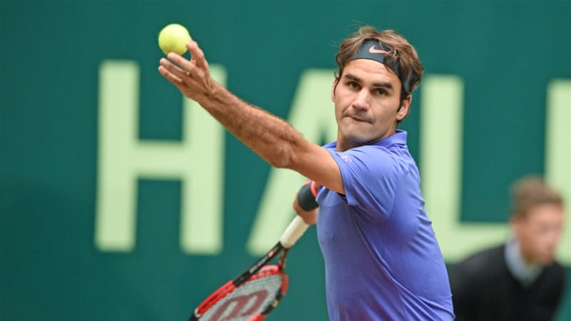 Federer had reached the quarter-final of the French Open last month [Getty Images]