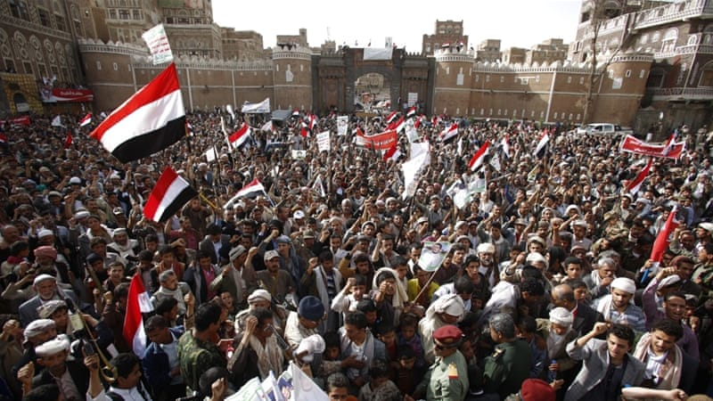 The rise of the Houthi movement represents a major reconfiguration of identity politics in the country, writes Nasser [AP]