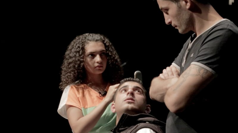 The play, a comedy, was inspired by the day-to-day lives of the actors [Samer Ghorayeb/Al Jazeera]