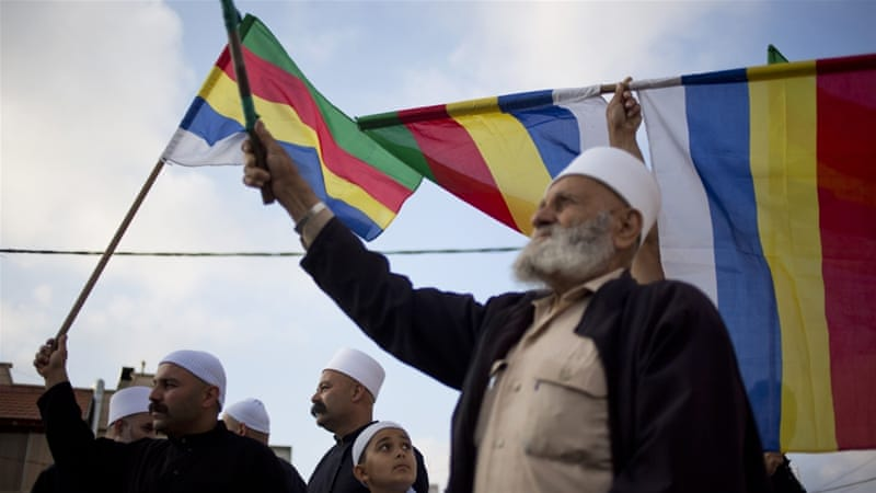 Israeli Druze are concerned about their brethren in Syria and are asking Israel to protect them [AP}