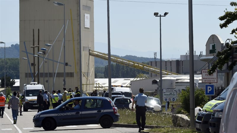 Man Decapitated in Suspected Islamist Attack on French Factory in Saint-Quentin Fallavier