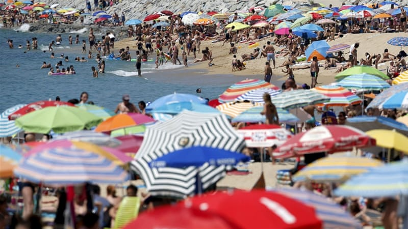 A heatwave is developing in Spain, where temperatures soared past 40C in recent days [Reuters]