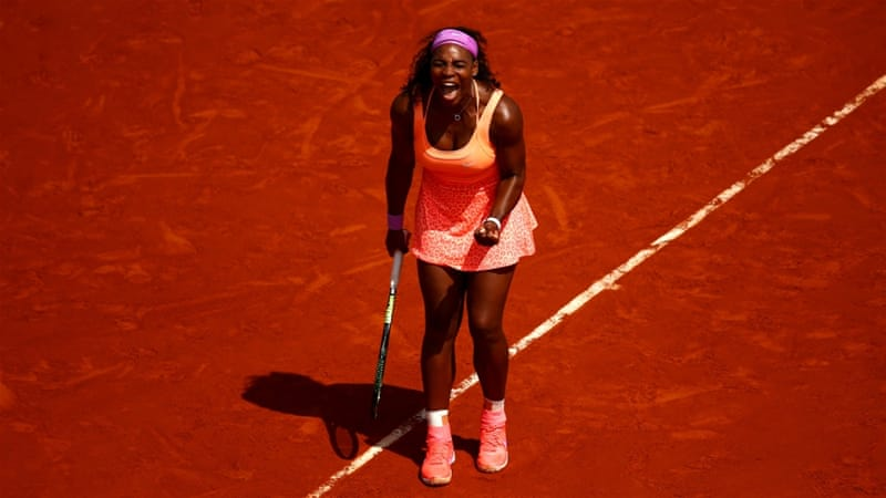 Serena has reached her fourth Roland Garros semi-final [Getty Images]