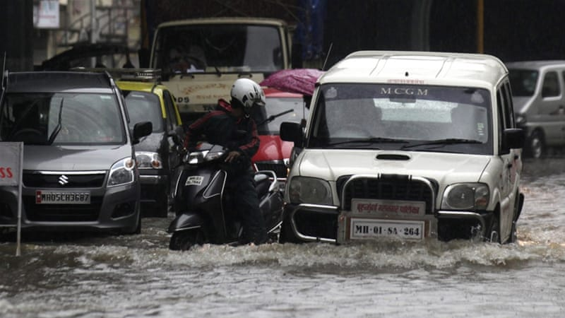 Since the monsoon burst with a vengeance, on June 12, Mumbai has collected over twice the expected June rainfall [Getty Images]