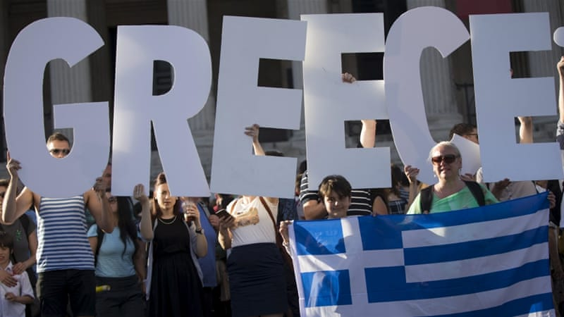 Image result for greece leaving imf