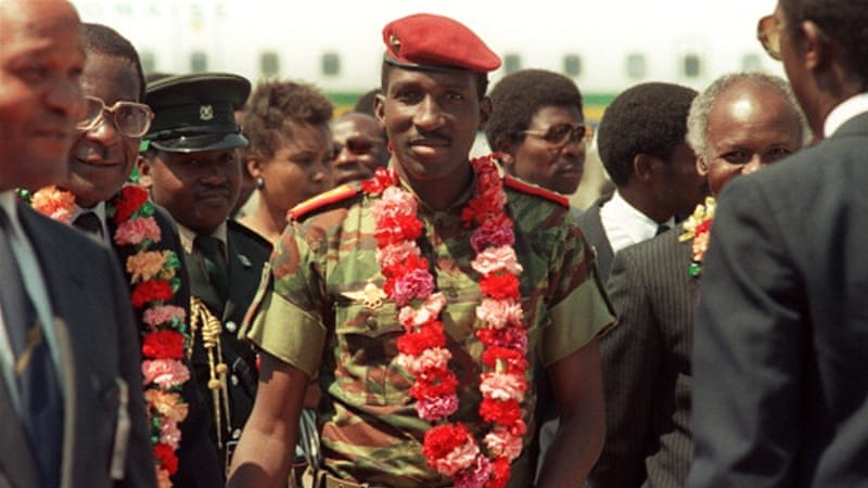 Ex-president wanted over killing of Thomas Sankara