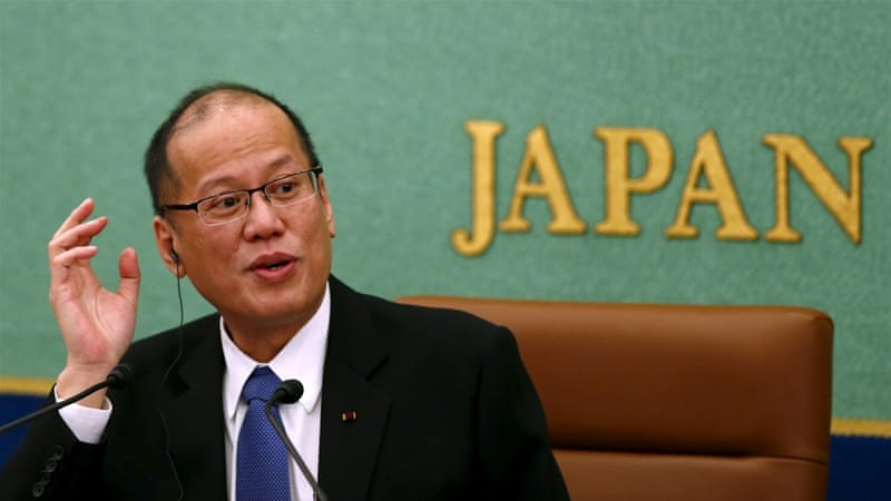 President Aquino on Wednesday sparked ire in Beijing by comparing it with Nazi Germany in the run-up to World War II [Reuters]