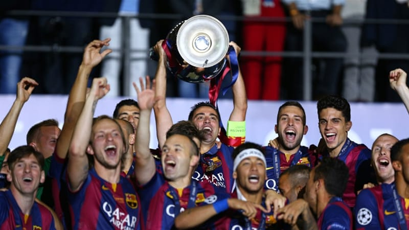 Barcelona's Champions League triumphs