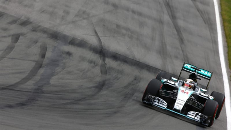 Hamilton leads teammate Rosberg by 17 points [Getty Images]