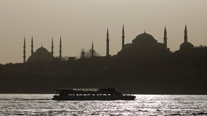 The Istanbul's old city's monuments Blue mosque and Hagia Sophia museum [REUTERS]