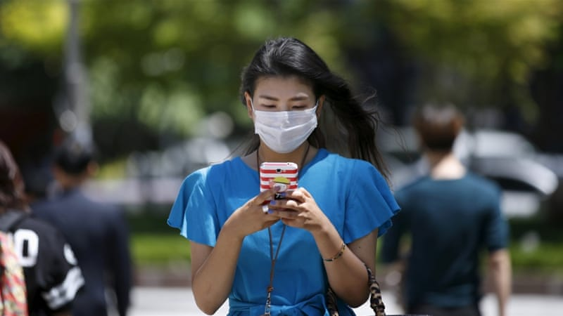 Authorities will monitor mobile phones of people in quarantine in a bid to track infections [Reuters]