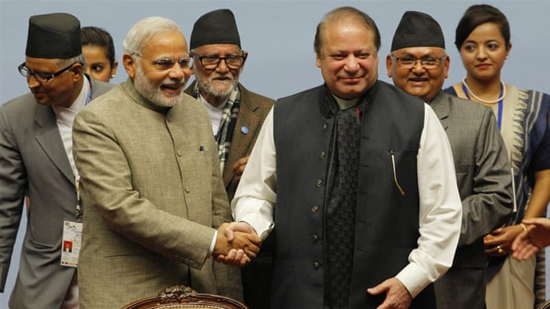 Meeting between Modi and Sharif in Paris apparently laid the groundwork for the Bangkok talks [EPA]