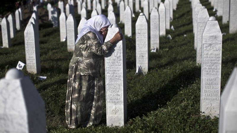 ... , children and the elderly fled Srebrenica. Only 3,500 survived. [AP