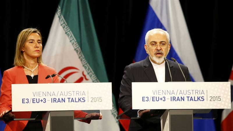 Foreign Minister Mohammad Javad Zarif has led Iran's negotiation team to reach nuclear deal [Reuters]