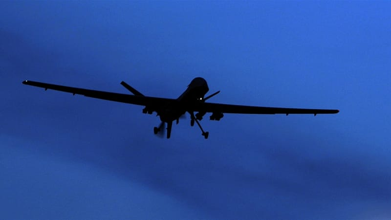 US forces carried out 106 strikes in June only, doubling bombings compared to average 40 in previous months [File: AP]