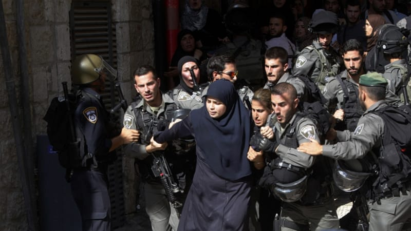 Even though the involvement of Palestinian women has largely been in the peaceful aspects of the struggle, their participation in armed resistance goes back decades, writes Diab [AP]