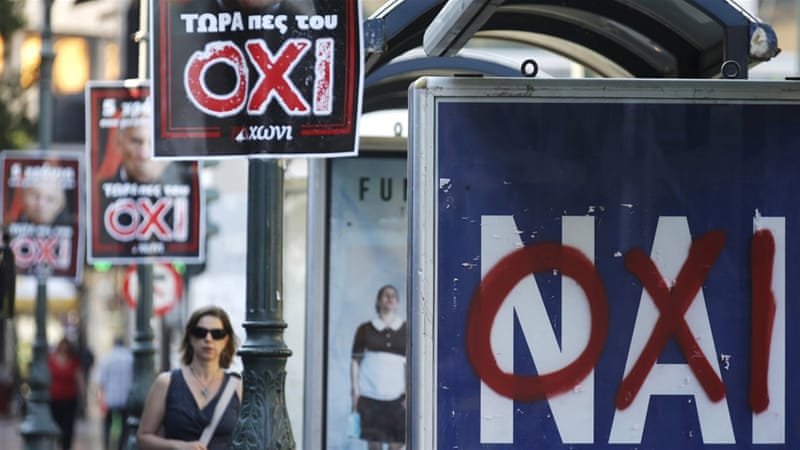 The Greek economy will creep even more precipitously towards the abyss, writes Tzafalias [Reuters]
