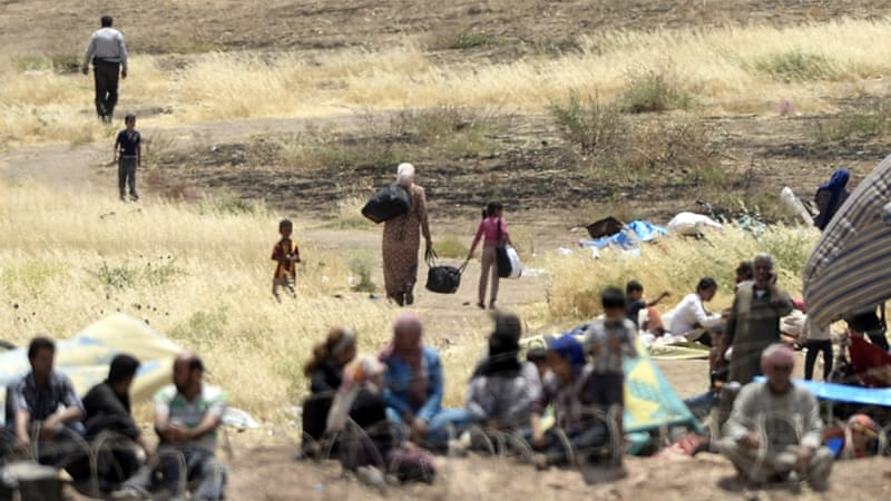 Millions of Syrians fled their country due to the conflict [Bulent Kilic/AFP]
