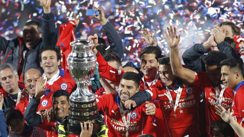 ef628b3ac Chile had beaten Argentina just once in 38 competitive matches before the  final  Reuters