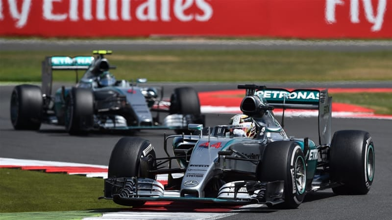 Hamilton has now won three times at Silverstone [Getty Images]