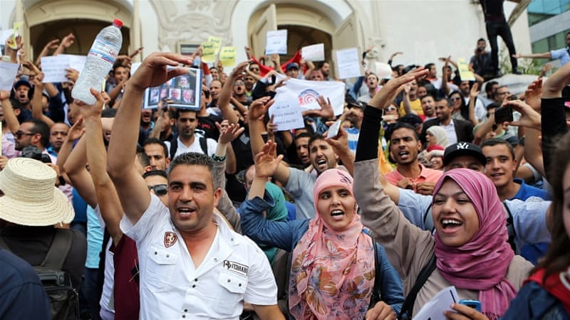 Recent unrest in Tunisia's impoverished south is a reminder that the country faces pressing economic and social concerns [EPA]