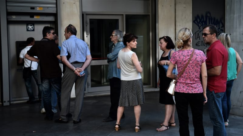 Greek banks running out of cash as EU leaders meet