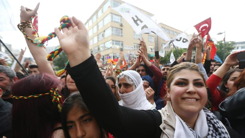 HDP's outreach to Islamist Kurds has undercut the AK party's prominence among the Kurdish people, writes Dalay [Getty]