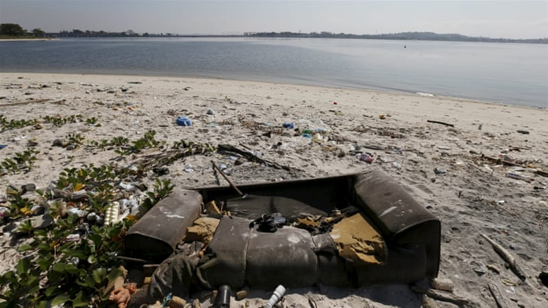 Rio's water not to be blamed for rowers' illness