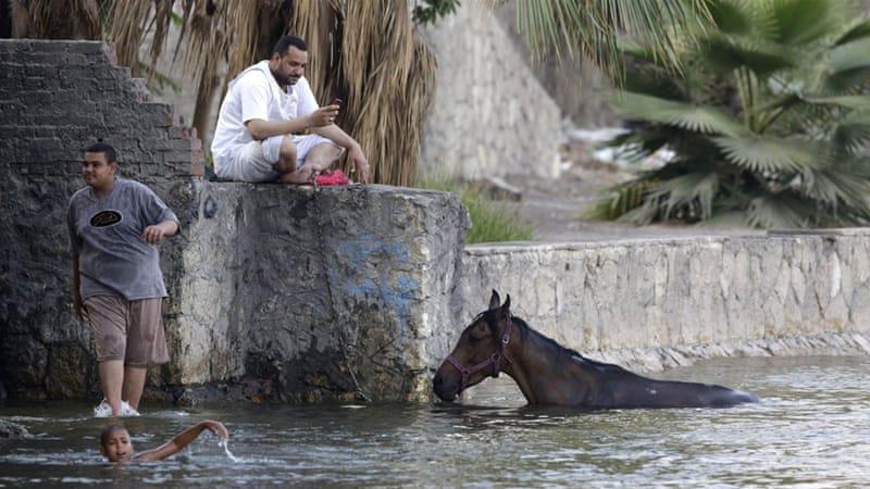 Egypt heat wave
