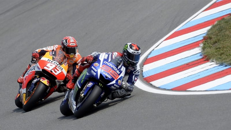 Lorenzo leads defending champion Marquez by 52 points [EPA]