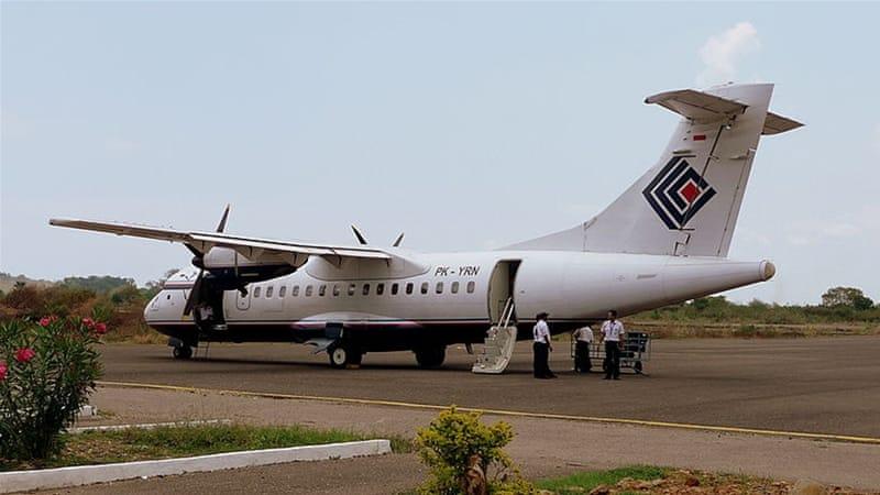 A Trigana Air ATR-42 plane on the tarmac [File: YSSYGUY/Wikipedia]