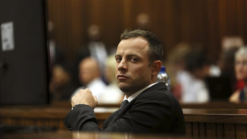 Pistorius was given a five-year sentence for killing his girlfriend [Reuters]