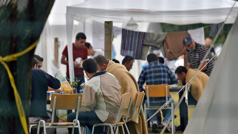 Germany says it has room for 45,000 migrants in temporary facilities but estimates it needs up to 150,000 places [EPA]