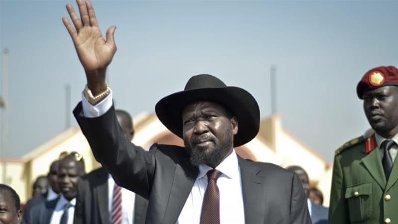 Kiir is scheduled to sign the power-sharing agreement in Juba on Wednesday [AP]