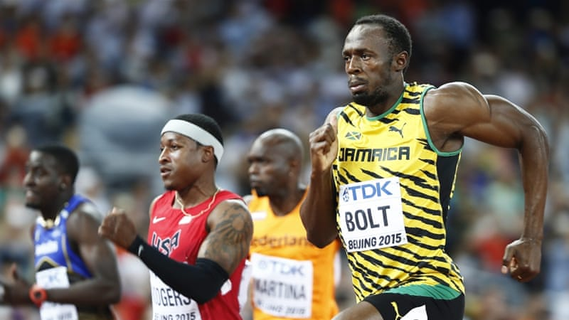 Bolt's 9.96 was the fifth fastest in the heats [EPA]