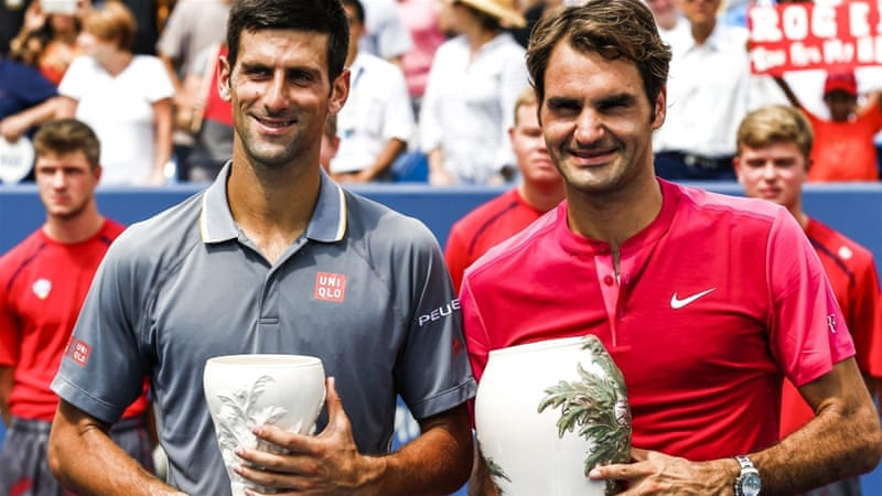 Djokovic had beaten Federer in the Wimbledon final last month [EPA]