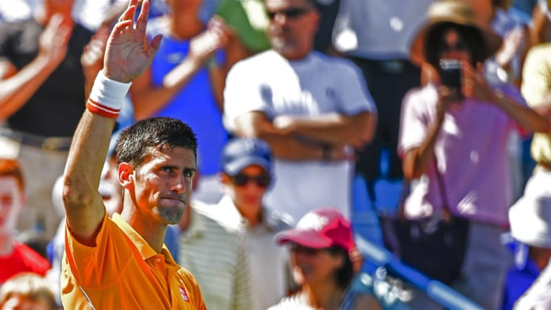 Djokovic needs a win on Sunday to become the first player to claim all nine ATP Masters titles [EPA]