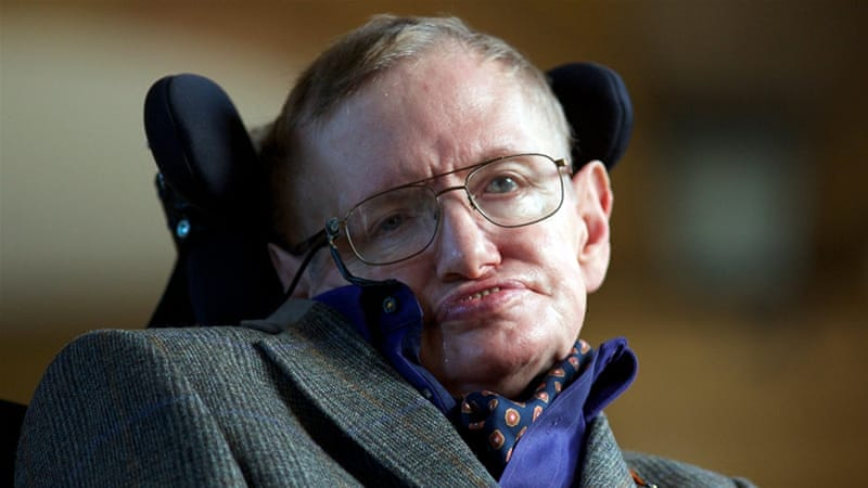 Hawking said black holes could provide passage to alternate universes [AFP]