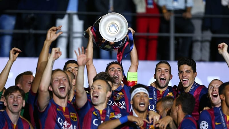 Holders Barcelona get favourable Champions League draw