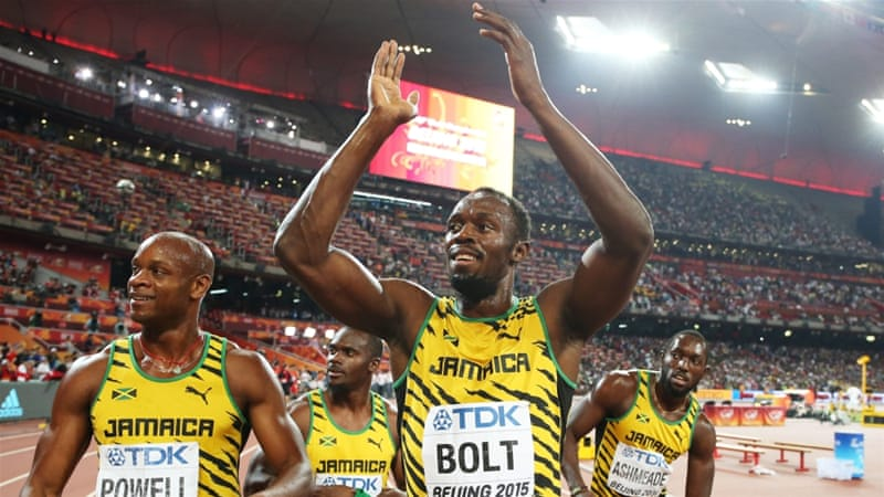 Bolt bagged gold in the 4x100m relay in addition to his 100m and 200m titles in Beijing [EPA]