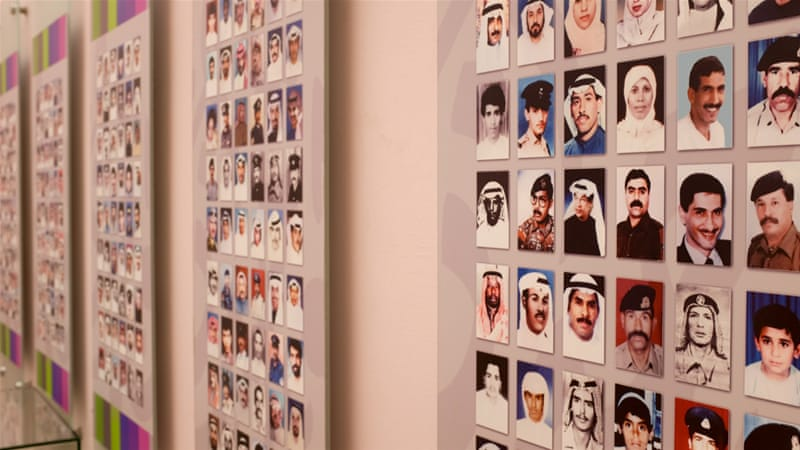 Kuwait's Bayt al-Qurain museum pays tribute to the more than 1,200 people reported to have died for their country [Megan O'Toole/Al Jazeera]