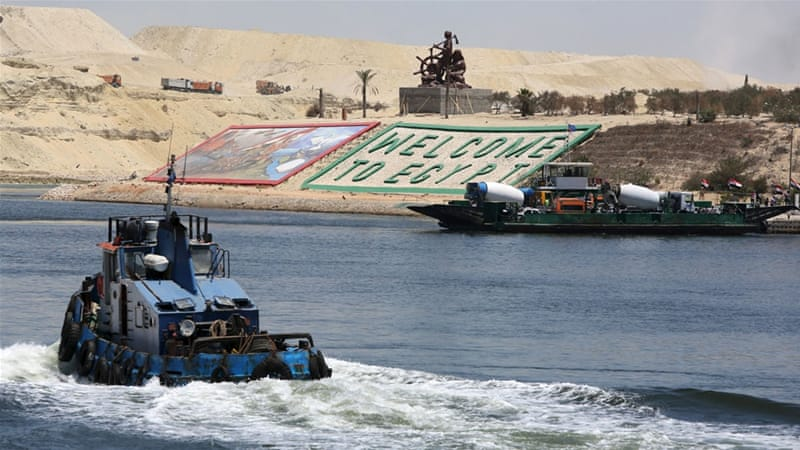 Instead of Suez Canal II, the billions sunk into dredging the desert sand should have gone to shoring up the Nile Delta, writes Diab [Reuters]