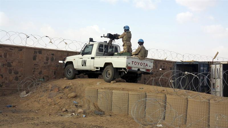 Gunmen attack United Nations  base in Mali killing 7 people
