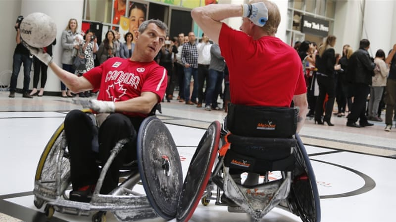 Murderball makes its Parapan Am Games debut