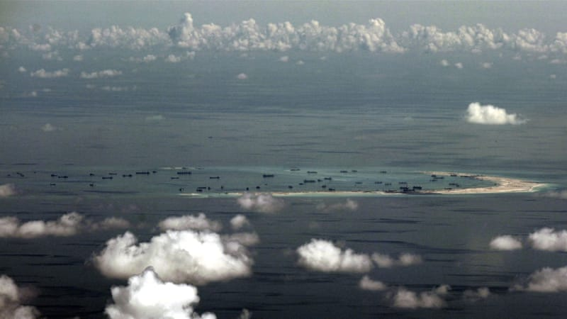 In less than two years, China has reclaimed more than 810 hectares of land across the S China Sea, writes Heydarian [AP]